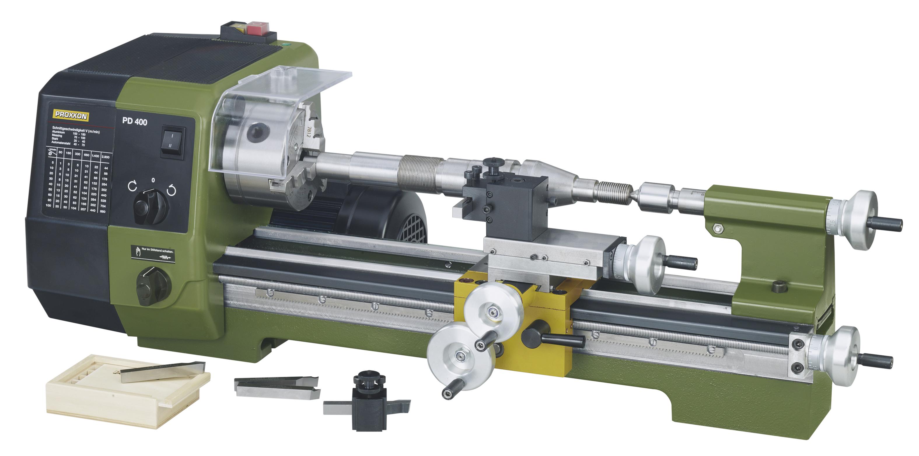 Proxxon Präzisions-Drehmaschine PD 400 24400