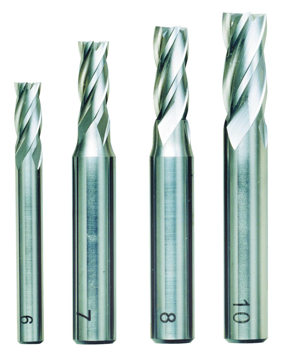 Proxxon Schaftfräsersatz (6-10 mm), 4-tlg. 24620