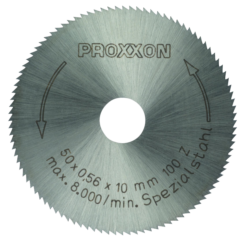 Proxxon Kreissägeblatt, HSS, 50 mm, 100 Zähne 28020