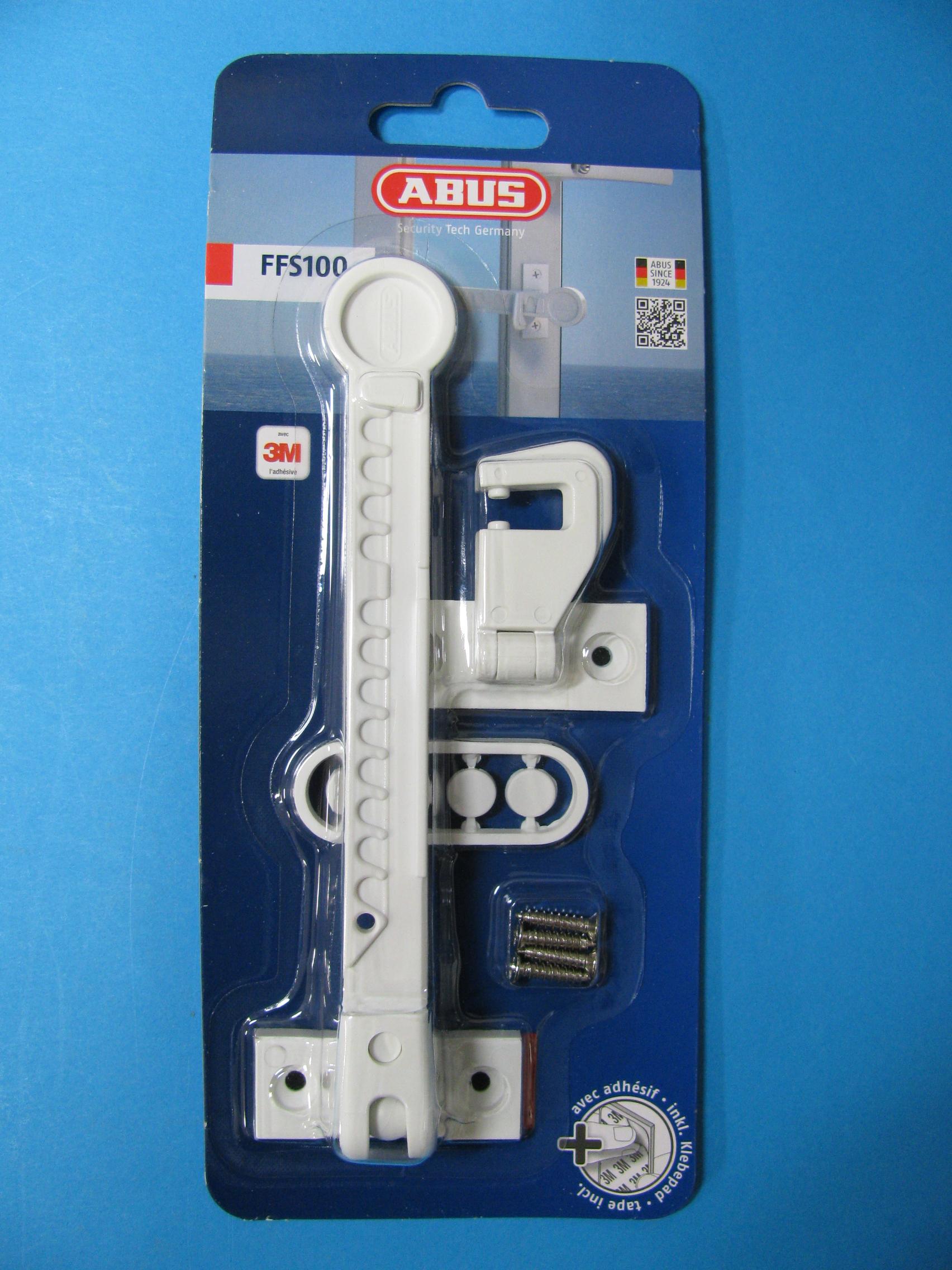 ABUS Fensterfeststeller FFS100 weiß 3759